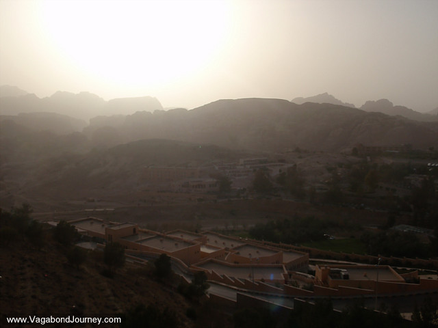 photo of wadi musa jordan