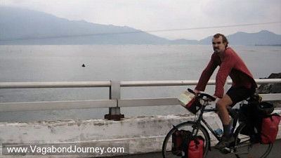 bicycling down vietnam coast