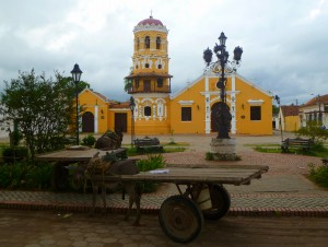 Santa Barbara church, Mompos, Colombia