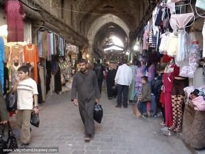 Market in Aleppo, Syria