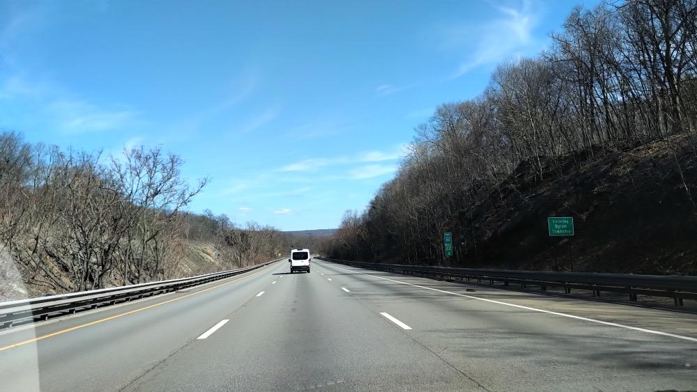 Empty highway coronavirus