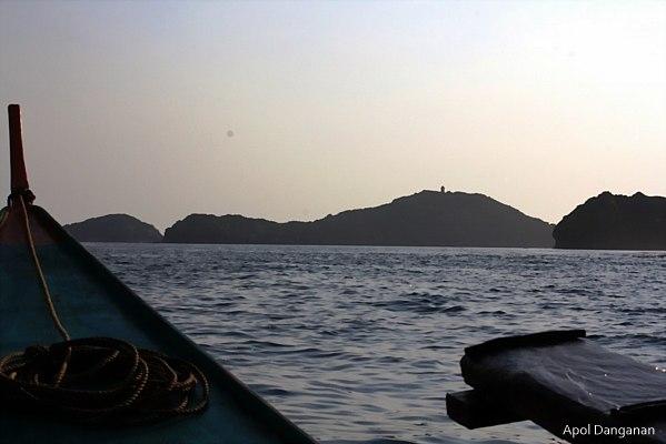 Approaching Cape Engano