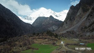 Hiking to Yubeng Tibetan Village (drone)