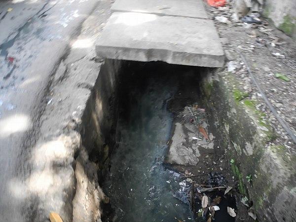 Hole in street Jakarta