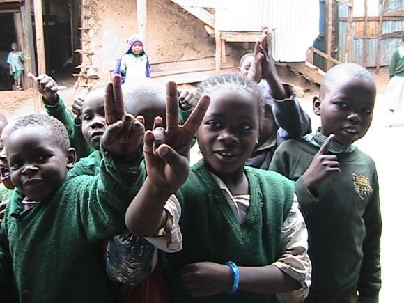 Kibera Nairobi Students