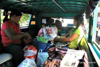 jeep to Tinglayan