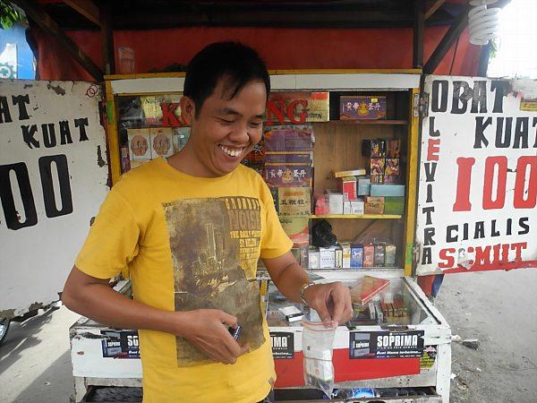 Jakarta sex shop worker