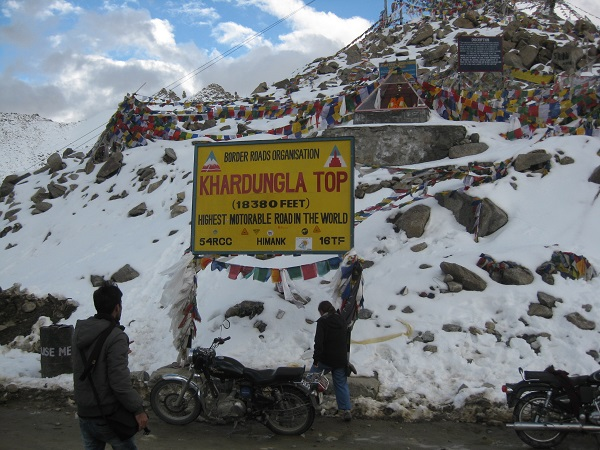 Khardung La Pass, Ledakh, India