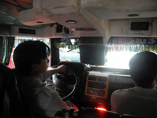 Philippines Jeepney driving
