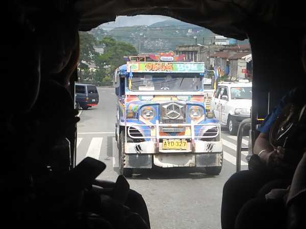 Philippines Jeepney riding