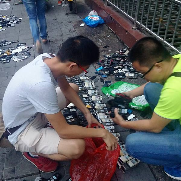 Recycled electronics market