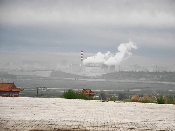 Power plant in Hulun Buir.