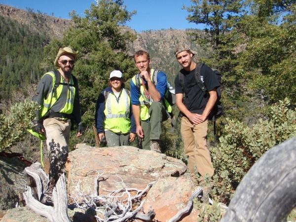 Tonto forst archaeology crew