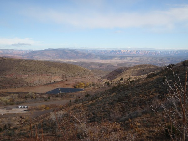 View from the mines in Jerome, Arizona
