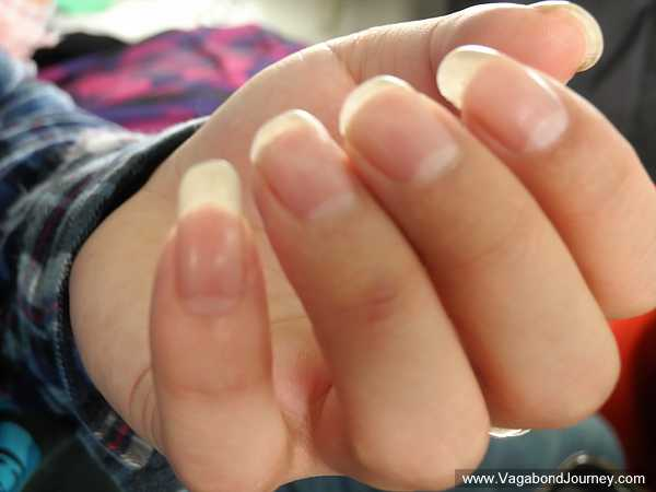 asian males with nails