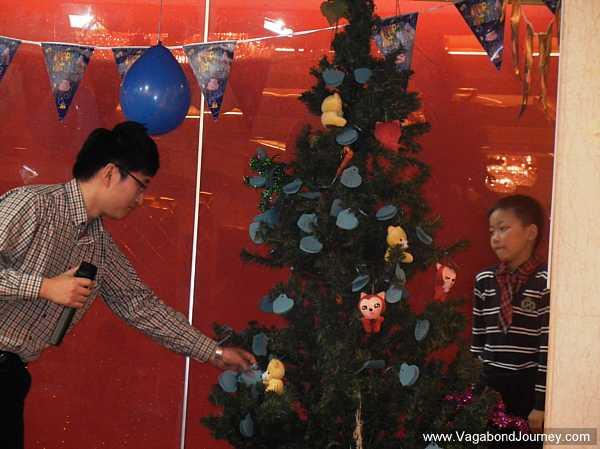 Chinese wish tree