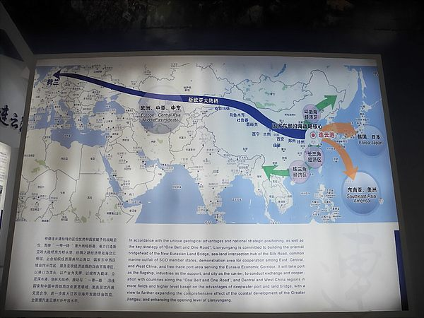 The New Silk Road from Lianyungang