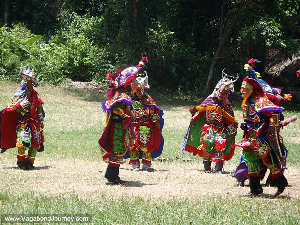 Maya dance of the deer