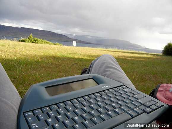 digital nomad in Iceland