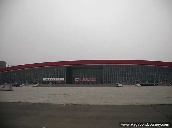 Vacant exhibition center