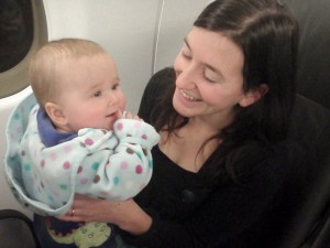 Flying on Jet Blue with an Infant