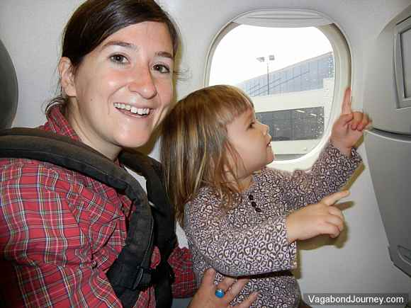 flying with child