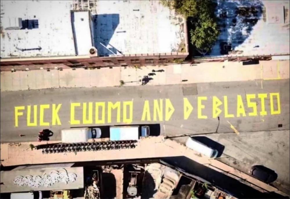 Fuck Cuomo and de Blasio