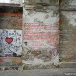 Graffiti Door Heart