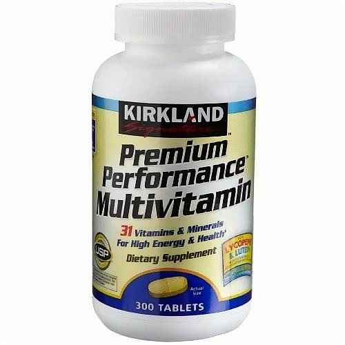 High potency multivitamin
