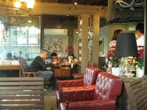 Luxury cafe Bangkok