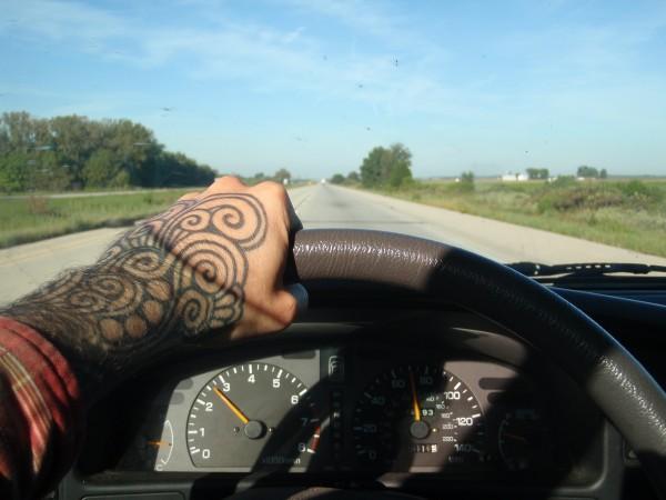Traveling through interstate America