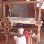 Teotitlan Loom Spinning Wheel