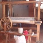 Teotitlan Loom Spinning Wheel