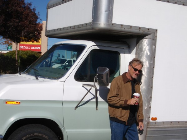 The creator of the moving truck motor home