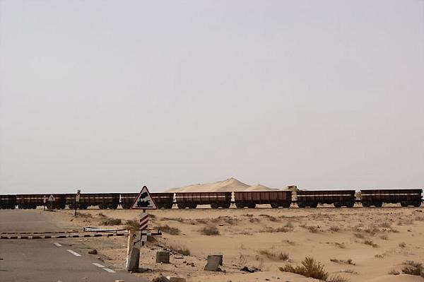 Mauritania ore train