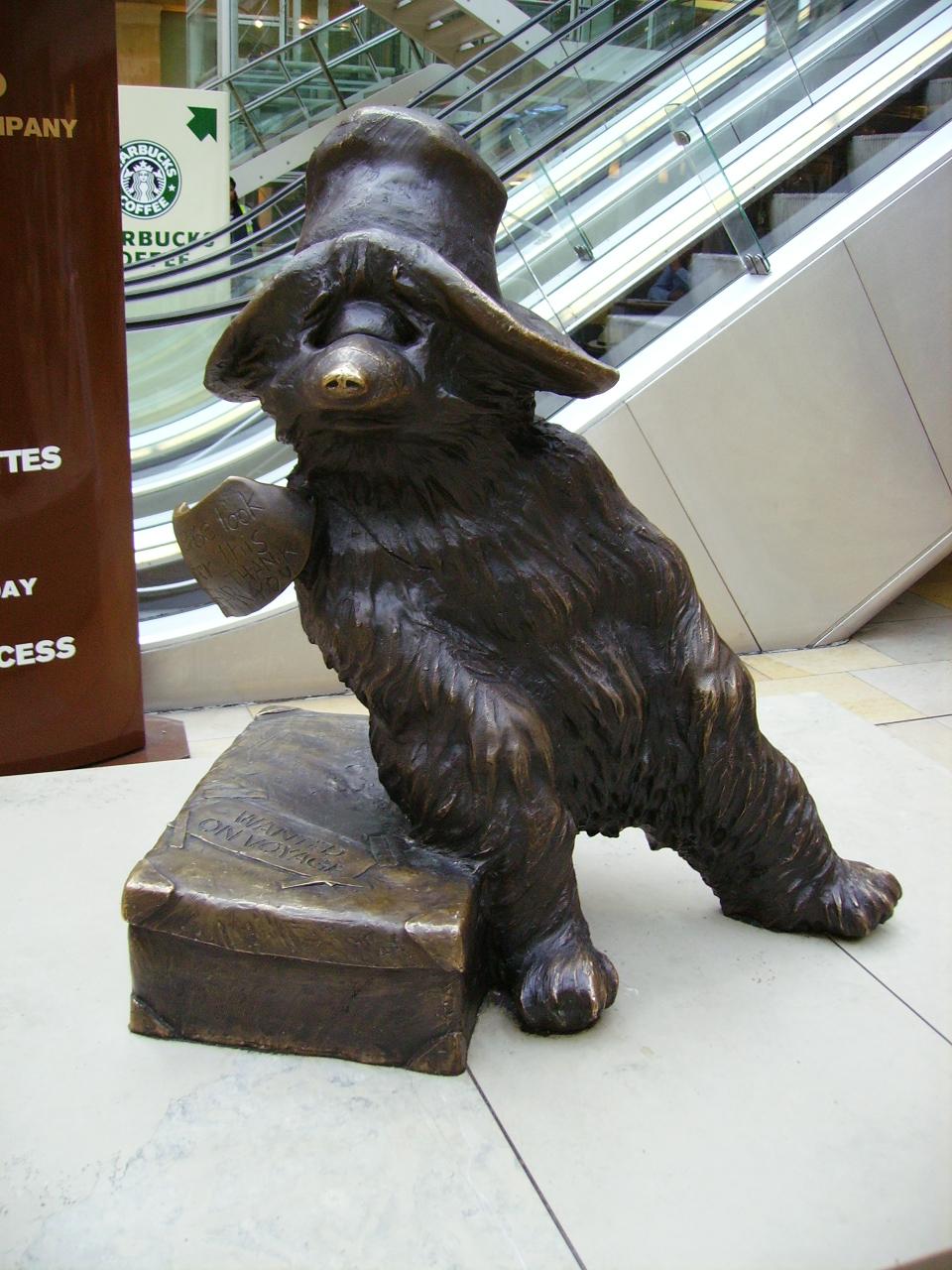 Paddington bear England