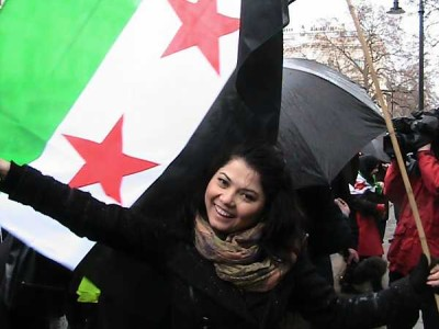 pro-syria-demonstrator
