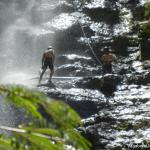 Abseiling Waterfall Colombia