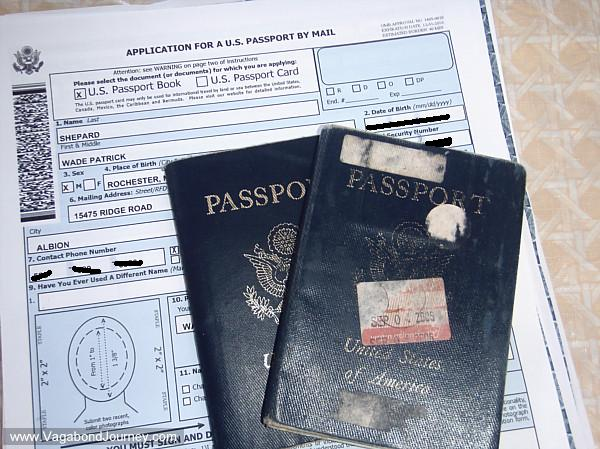 Renewing US passport by mail