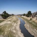 River on outskirts of Oaxaca