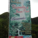 Sign Juan Curi Ecological Park