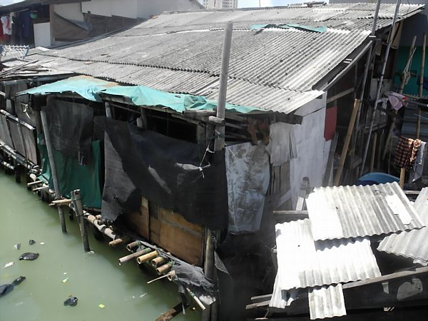 Stilt houses in the Sunda Kelapa neighborhood.