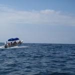 Tourist boat from Oaxaca Mexico