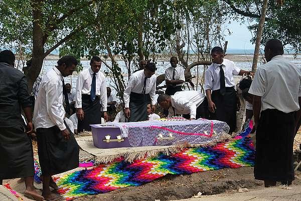 traditional Fiji funeral