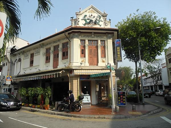 traditional architecture Singapore