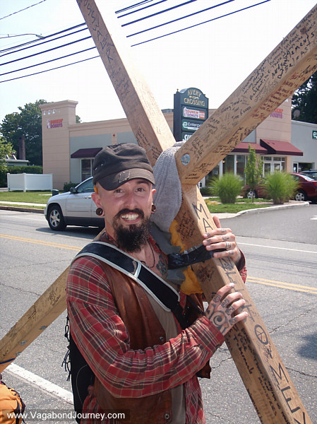 Wade on the Cross Walk