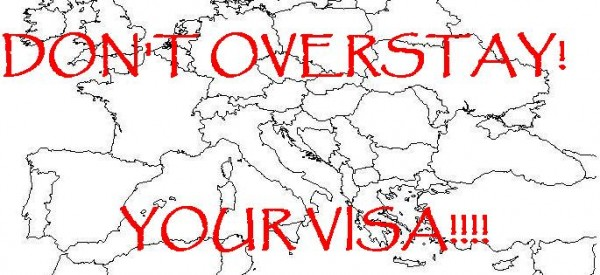 Don't overstay your visa