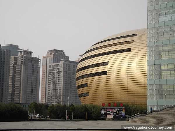 The Zhengzhou museum -- sure, it looks like a clutch of golden Easter eggs, but it's still pretty cool