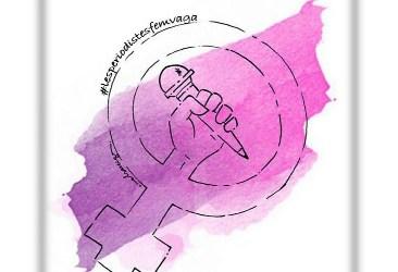 "Acte de lectura del manifest ""Les periodistes fem vaga"""