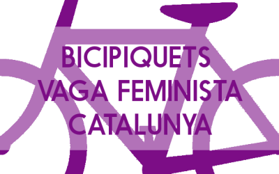 Bicipiquets vaga feminista Catalunya
